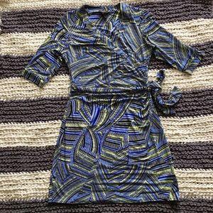 Laundry by Shelli Segal Los Angeles wrap Dress